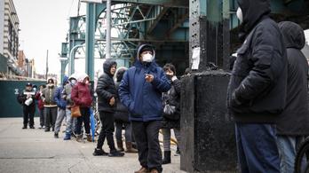 Csak New Yorkban több mint 37 ezer igazolt fertőzött van