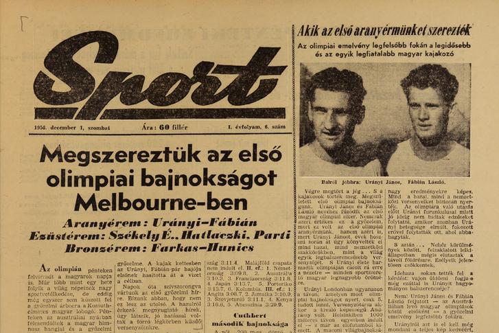 Sport, 1956. december 6-27. szám