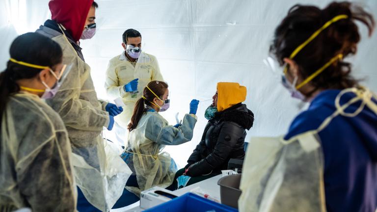 Az USA-ban már több a fertőzött, mint Kínában