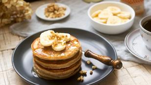 Banánpalacsinta – gluténmentes, tejmentes finomság