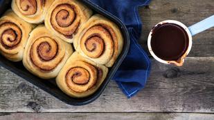 Villámgyors és puha: kakaós csiga glutén-, tojás- és cukormentesen