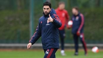 Felgyógyult a koronavírusból az Arsenal edzője