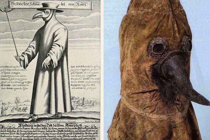 Ilyen maszkokkal védekeztek a bubópestis és spanyolnátha ellen: képeken a járványhelyzet régi eszközei