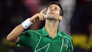 Djokovic egymillió eurót ajánlott hazájának a koronavírus elleni harchoz
