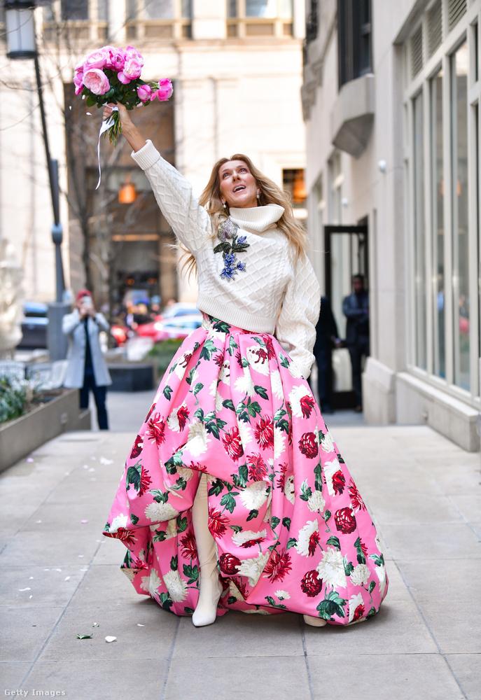 És az utolsó kép: ez is New Yorkban készült, március elején