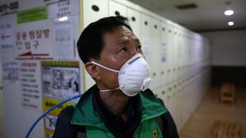 Dél-Koreában vesztésre áll a koronavírus