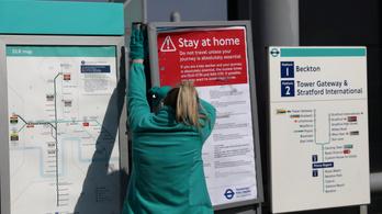 1000 fő fölé emelkedett a járvány halálos áldozatainak száma Nagy Britanniában