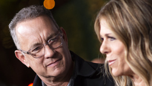 Tom Hanks és Rita Wilson hazatért Los Angelesbe
