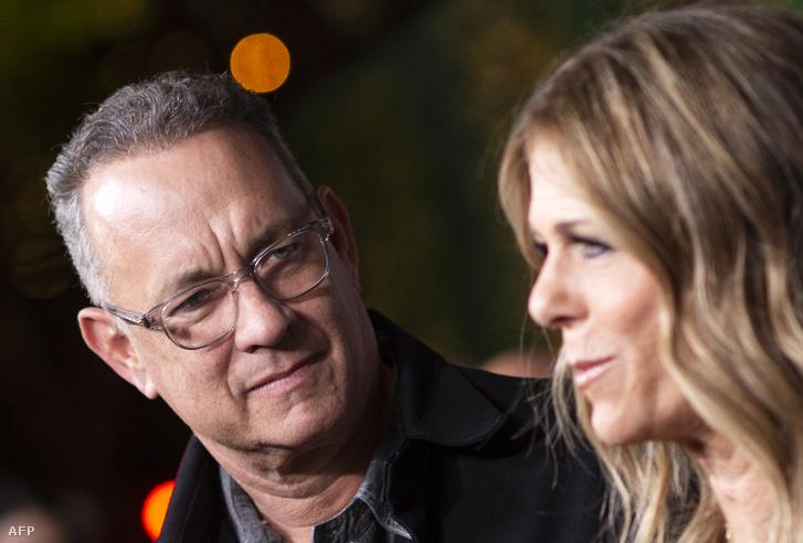 Rita Wilson és férje, Tom Hanks