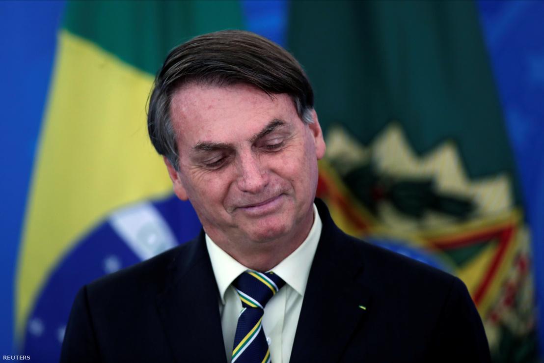 Brazíilia elnöke egy március 27-én, pénteken tartott sajtótájékoztatón