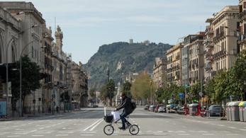 Leállnak két hétre a nem létfontosságú ágazatok Spanyolországban