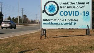 Kanadában a vírus miatt kórházba kerülők 30 százaléka 40 év alatti