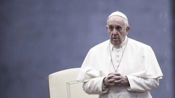 Ferenc pápa tesztje negatív lett koronavírusra