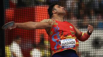 Egy olimpiai érmes iráni diszkoszvető is koronavírusos