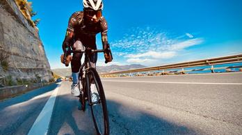 Brutális, 402 kilométeres edzést nyomott le egy magyar bringás