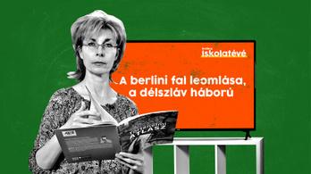 Iskolatévé: Ma 13 órakor a berlini fal leomlása és a délszláv háború lesz a téma