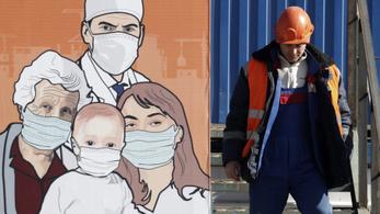 Oroszországban 1500, Belgiumban és Hollandiában már tízezer fölött a fertőzöttek száma