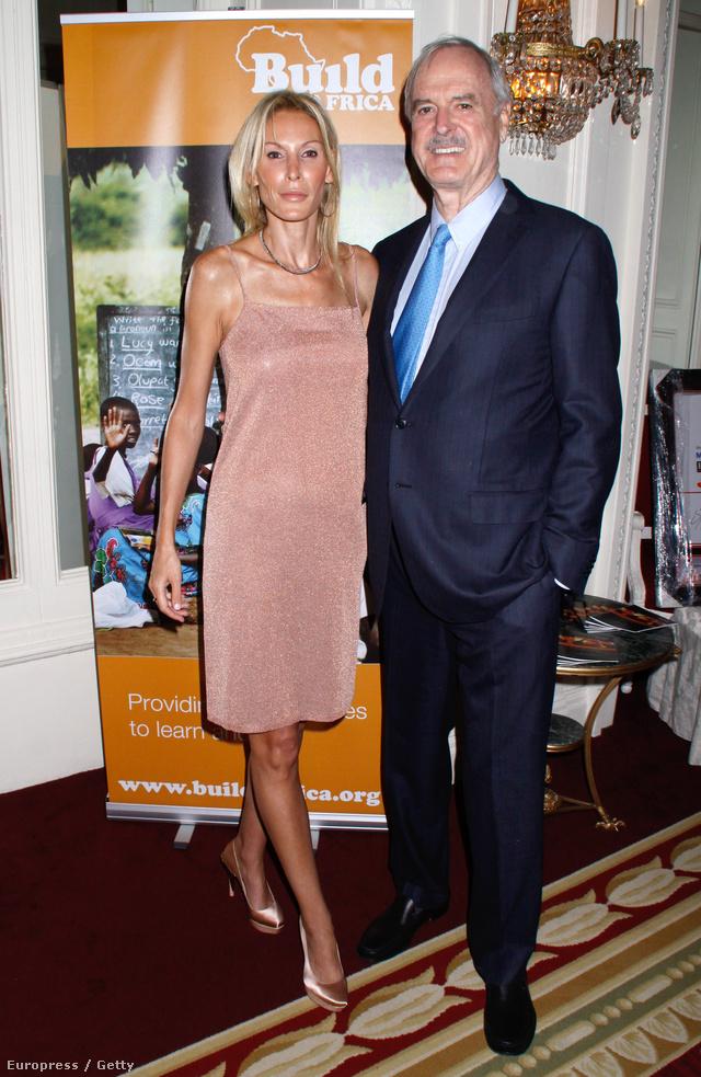 John Cleese és Jennifer Wade egy jótékonysági vacsorán