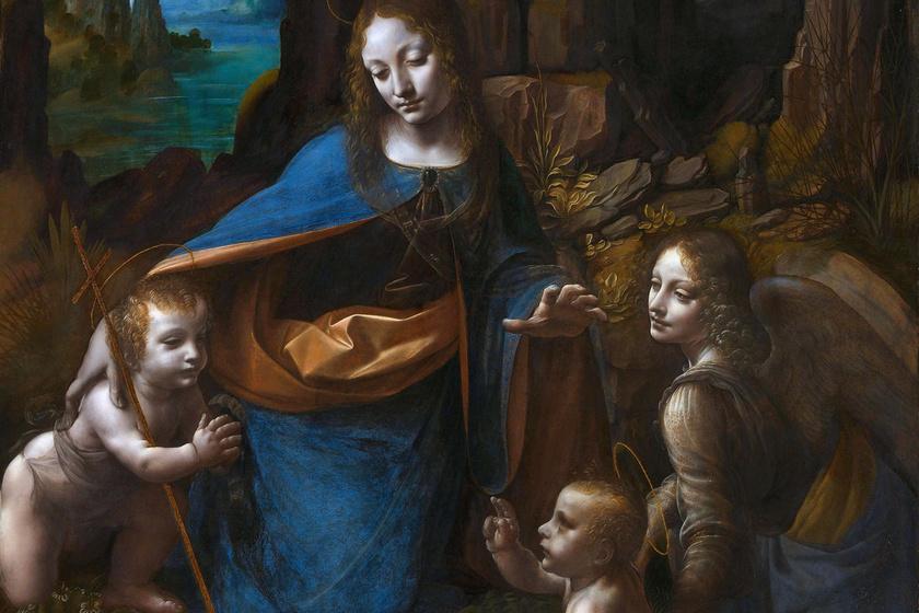 Évszázadokig rejtve maradt Da Vinci titka, most megröntgenezték a képet: a gyermek Jézus alakja tűnt elő