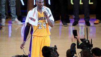 33 ezer dollárért kelt el Kobe Bryant búcsúmeccsén használt törülközője