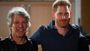Itt van Harry herceg és Bon Jovi közös dala