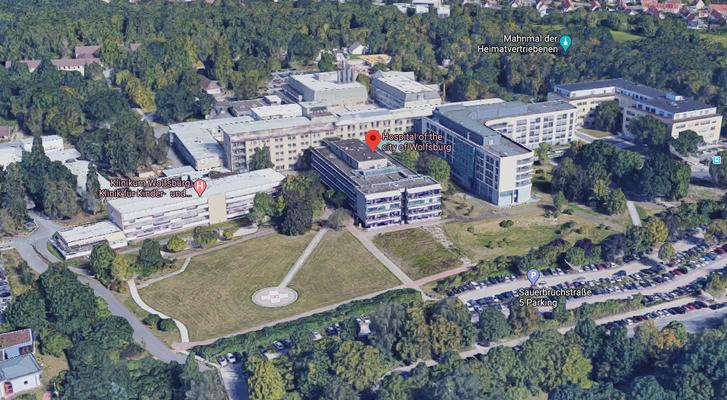 Klinikum Wolfsburg épülete