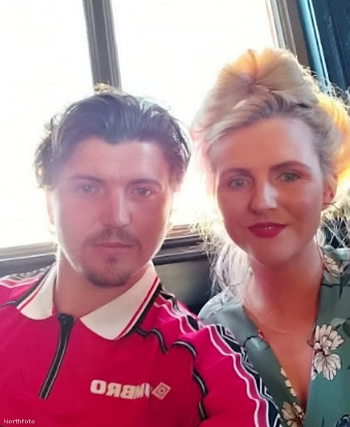 A képen az angol Kevin Price-t és barátnőjét látja
