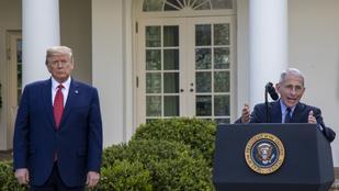 100 000 amerikai halottal számol Trump szakértője – A koronavírus-járvány amerikai hírei hétfőn
