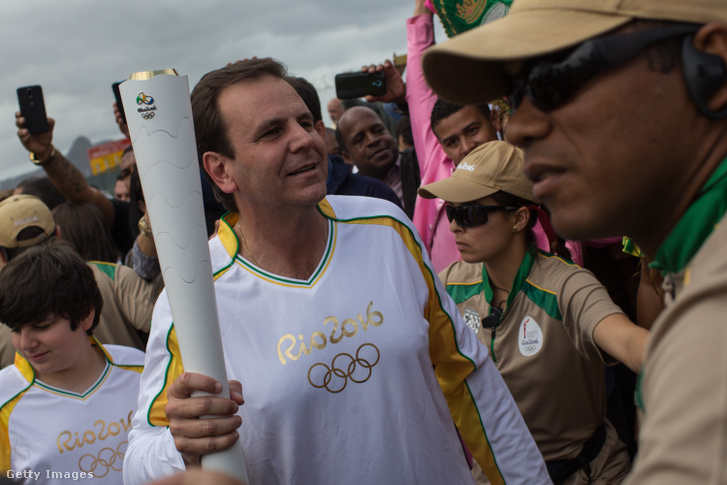 Eduardo Paes 2016. augusztus 3-án Rio de Janeiróban.