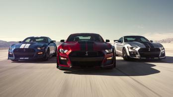 Méregdrága lesz a Mustang GT500 Európában