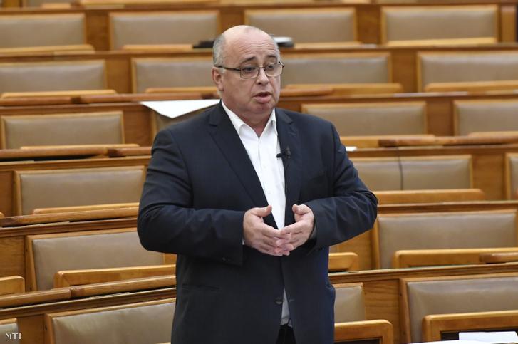 Balla György felszólalása a mai ülésen