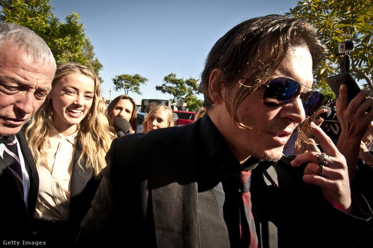 Depp és Heard akkoriban, Ausztráliában