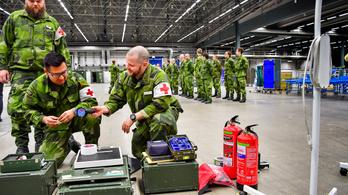 Skandinávos nyugalommal készül Svédország a krízisre