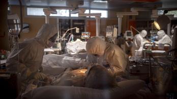 Százezernél több fertőzött Olaszországban, de lassul a járvány