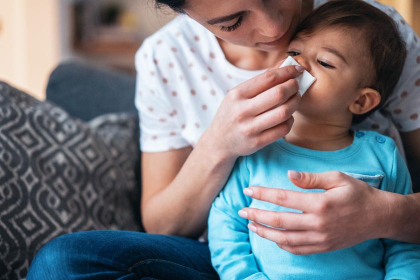 virtuális rendelő gyerek tüsszent