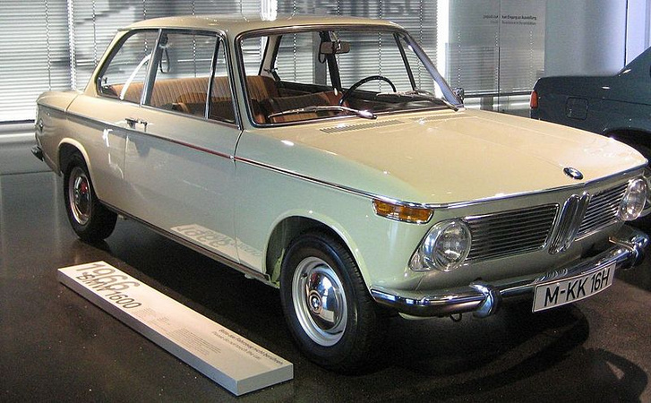 1966 BMW 1600-2 in BMW Museum