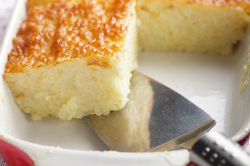 Ellenállhatatlan vaníliás, citromos rizskoch: belül szinte krémes
