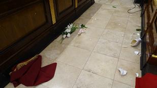 Betört, imádkozni kezdett, majd szétverte egy férfi a debreceni Református Nagytemplomot