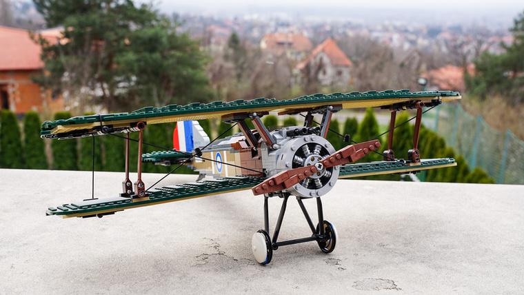 A Sopwith Camel az első világháború leghíresebb gépeinek egyike, és közel 1300 német gép vesztét okozta