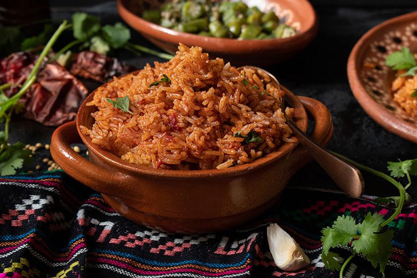 mexikói-rizs