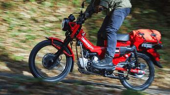 Késznek tekinthetjük a Honda CT125-öt