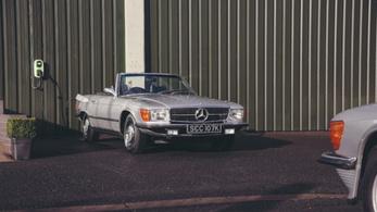 Ilyen egy gyönyörű elektromos Mercedes
