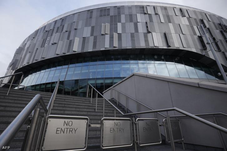A Tottenham stadionja