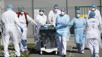 499 koronavírusos beteg halt meg egy napon belül Franciaországban