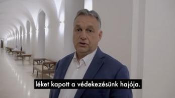 Orbán Viktor az ellenzék ütötte lékről beszélt az Instagramon