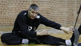 Fazekas Nándor 43 évesen abbahagyja a kézilabdázást