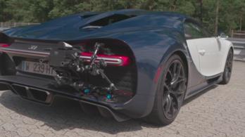 Így vették fel a Bugatti 400 km/órás rekordját