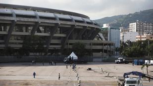 Brazília legnagyobb stadionjában is kórházat állítanak fel