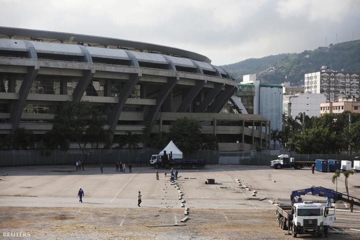 Szükségkórházat építenek a Maracana Stadionnál