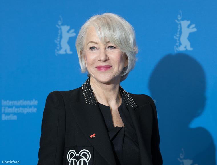 Galériánkat Helen Mirren színésznővel zárjuk, aki